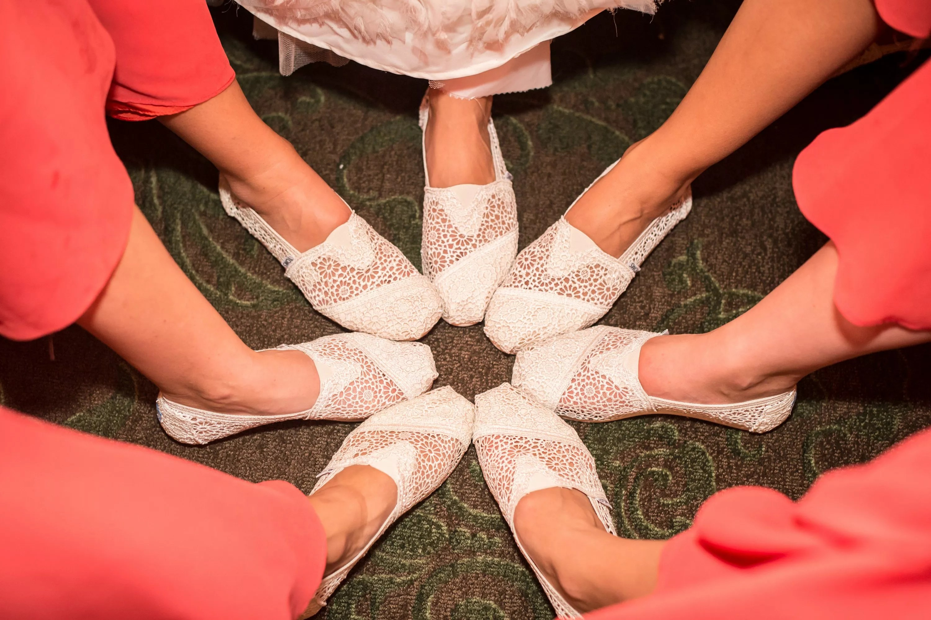 ivory lace toms bridesmaid shoes photo toms wedding shoes