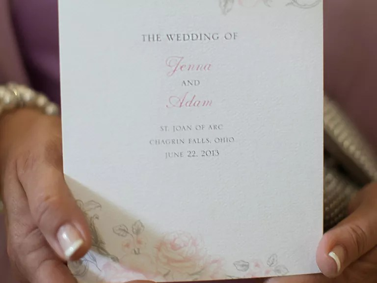 Wedding Programs - Wedding Program Wording