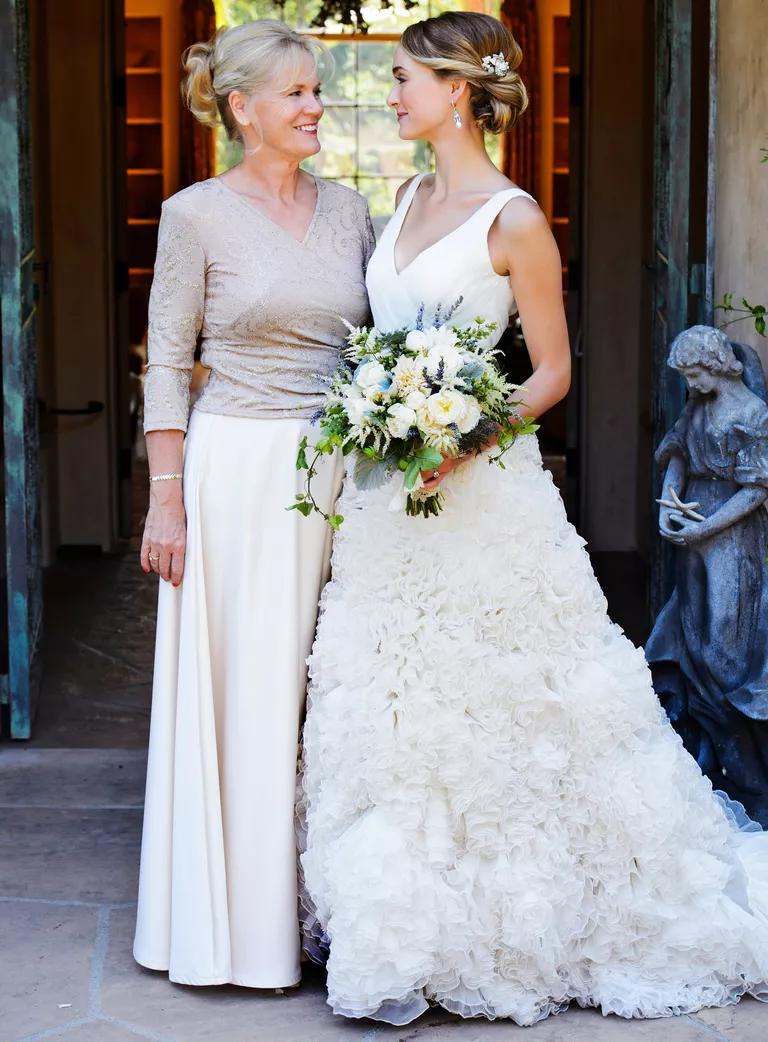mother of the bride photos make you cry mothers dress for wedding Mother of the bride portrait at Santa Barbara wedding