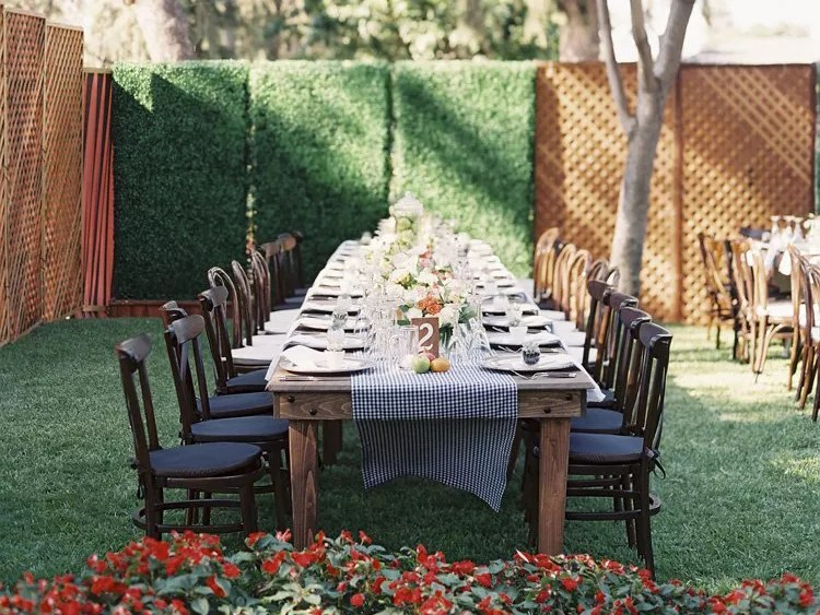 Wedding Receptions At Home Wedding Secrets