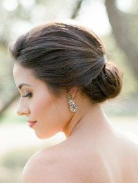 Low Chignon Wedding Hairstyles