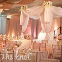 White Sweetheart Table Decor