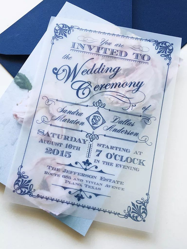 wedding template invitation