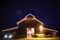 Rustic Barn Wedding, String Lights
