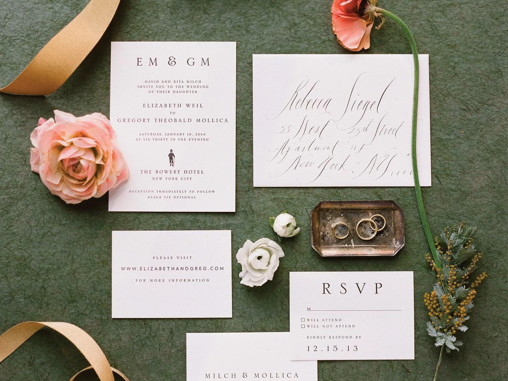 wedding invitations etiquette wedding stationery
