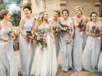 Gray Bridesmaid Dresses to Shop Now