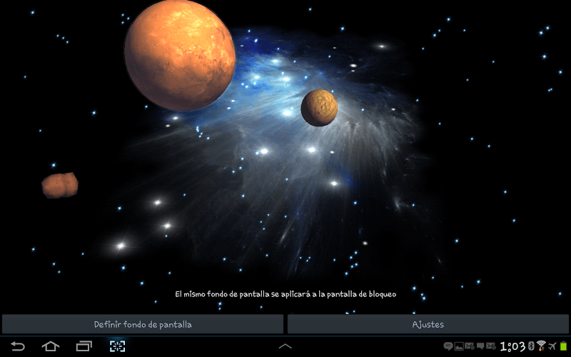 Asteroids 3d Live Wallpaper Apk 3d Galaxy Live Wallpaper 1 71 Apk