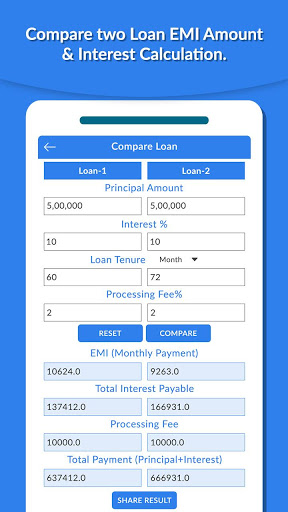 Download EMI Calculator - Home Loan  Finance Planner v12 (Ad Free