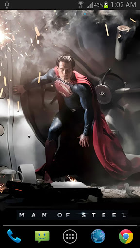 Superman Live Wallpaper Android -Free Apps