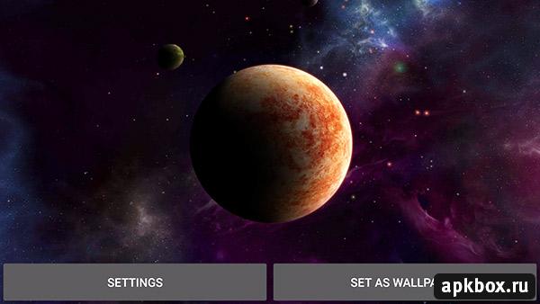 Asteroids 3d Live Wallpaper Apk Planets скачать на Андроид Apkbox