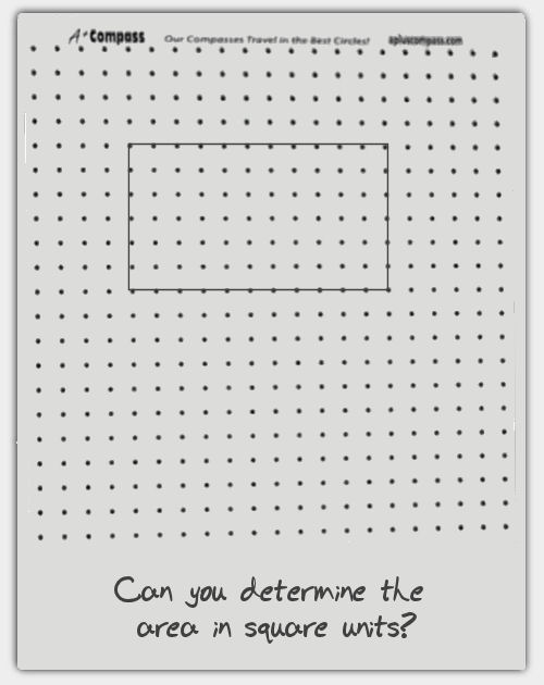 A+ Compass - dot paper template