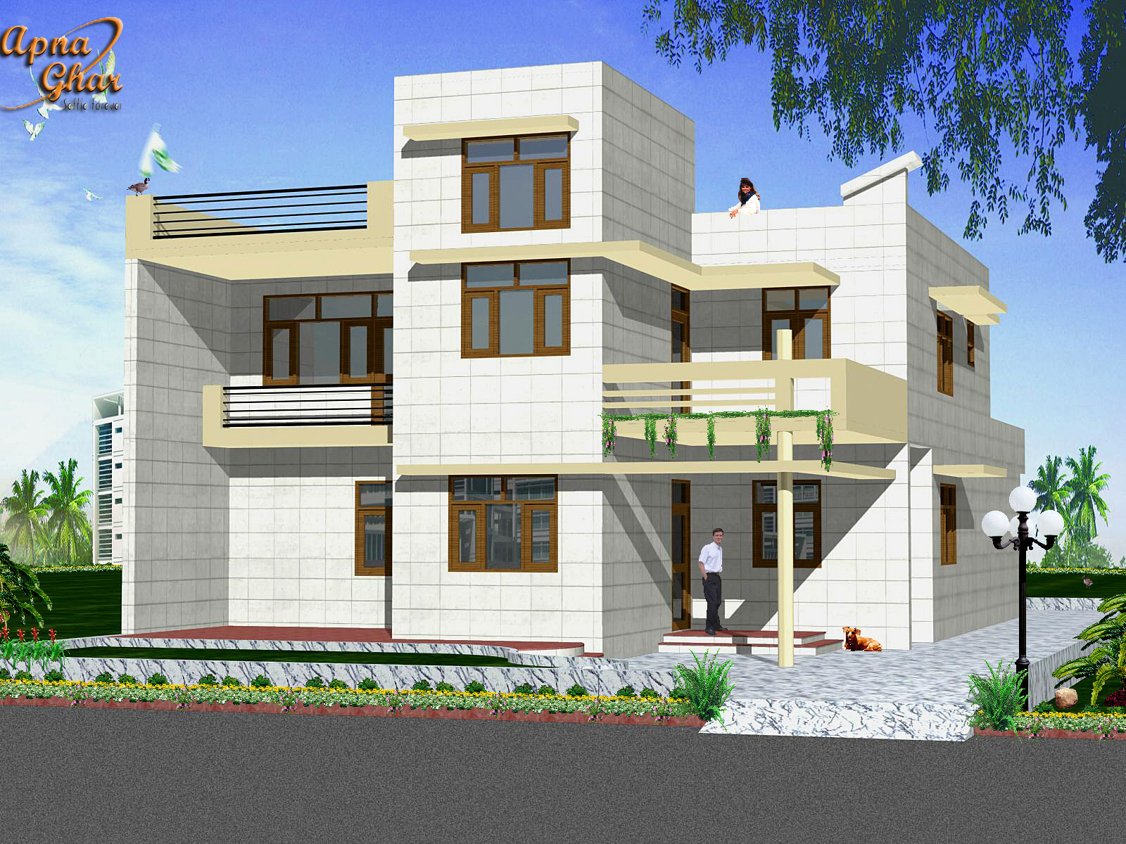 Front Elevation Of Residential Building Ground Floor - 40chienmingwang ...
