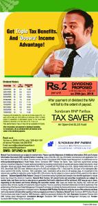 sundaram_tax_saver_fund dividend