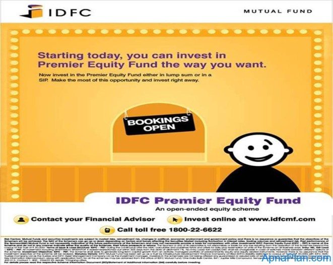 IDFC Premier equity fund opens for subscription