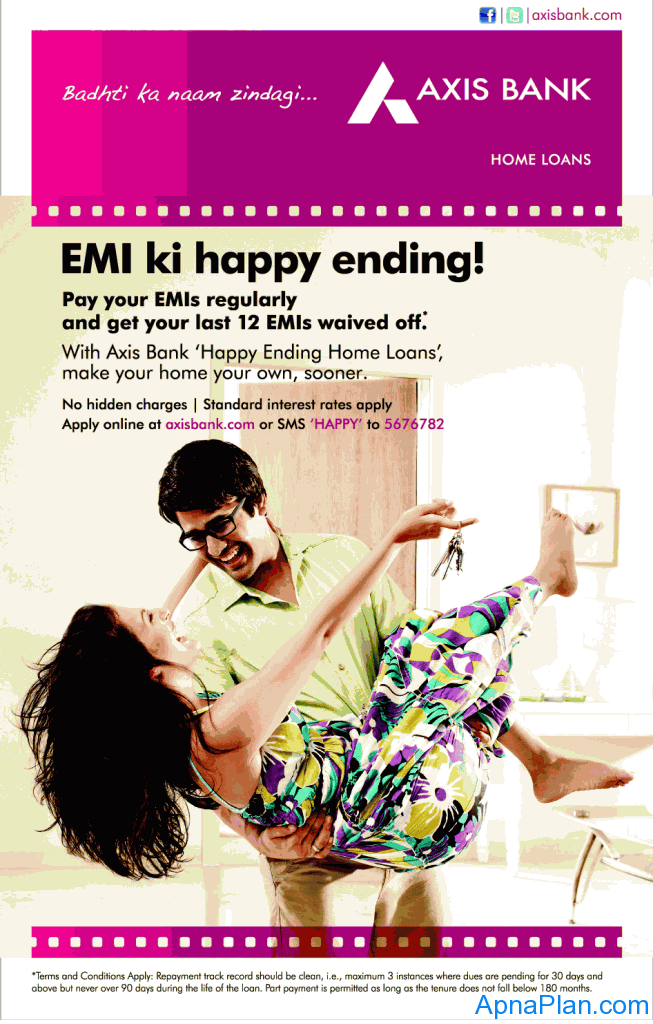 Axia Bank - Happy Ending Home Loan