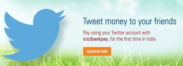 ICICI Twitter Banking - icicibankpay