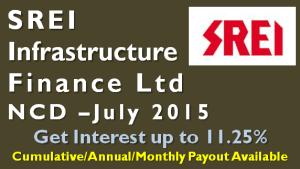 SREI Infrastructure Finance NCD – July 2015