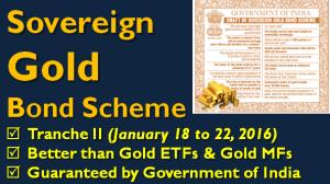 Sovereign Gold Bond Tranche II