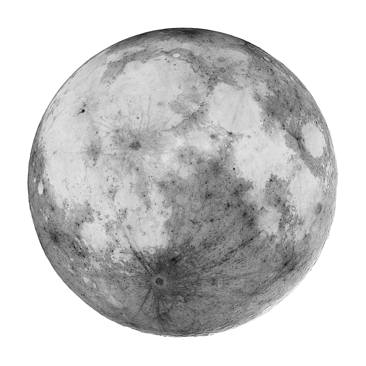 Full Moon Drawing Black And White Apod 2007 July 28 Full Moondark
