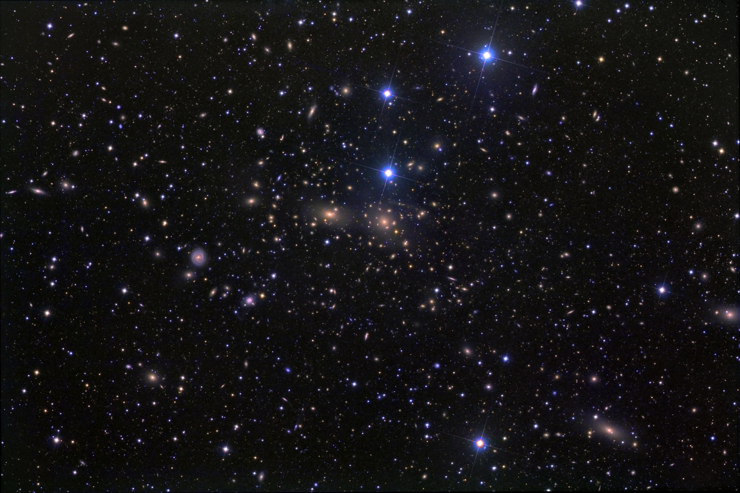 3d Moving Solar System Wallpaper Apod 2010 May 2 The Coma Cluster Of Galaxies