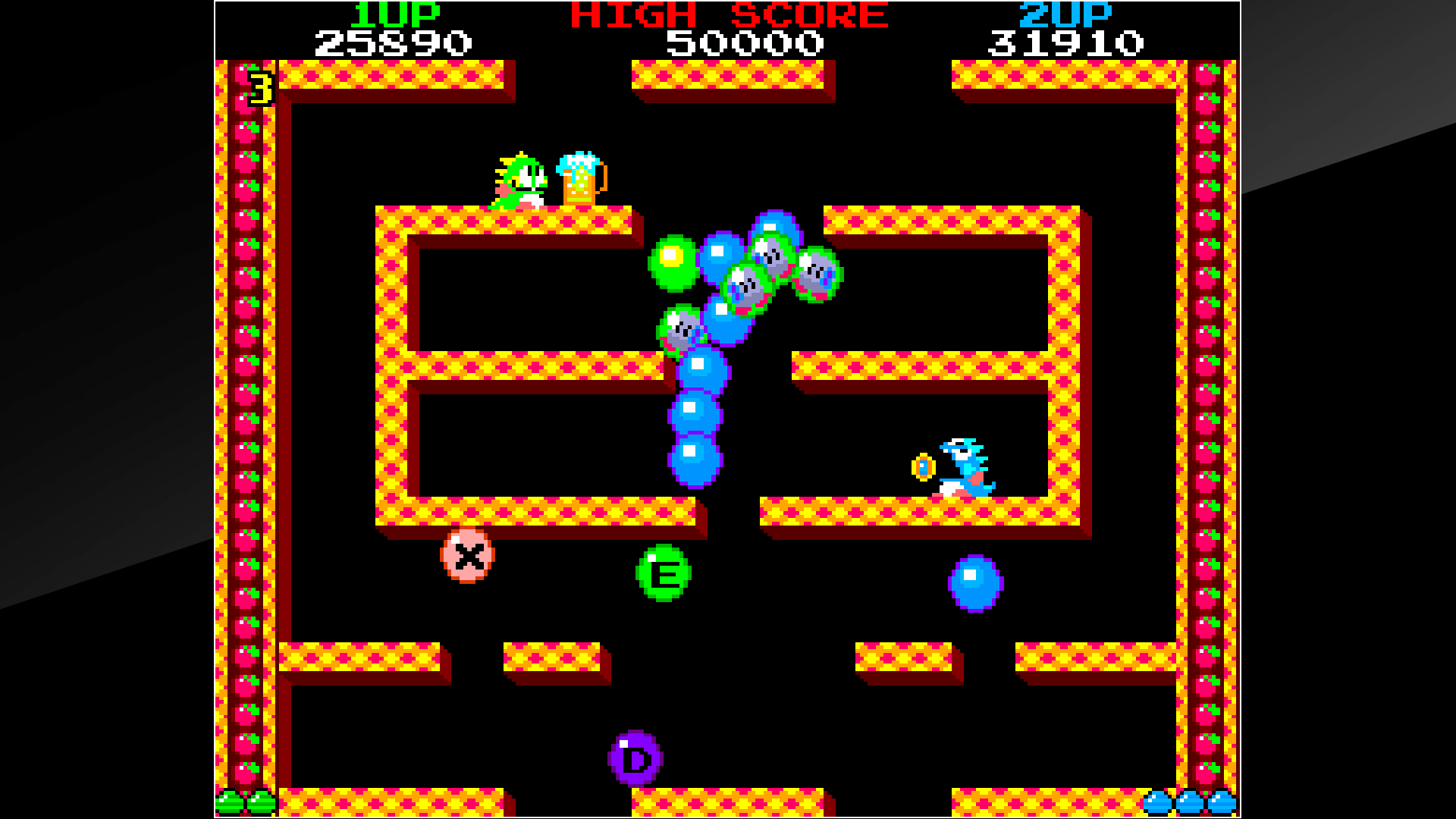 Bubble Games Arcade Archives Bubble Bobble On Ps4 Official