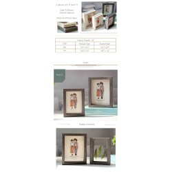 Small Crop Of Double Sided Picture Frame