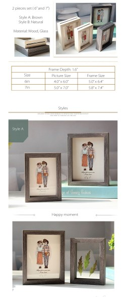 Small Of Double Sided Picture Frame