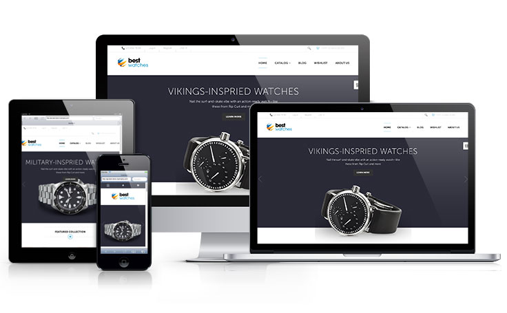 Ap Best Watches Shopify theme - shopify template