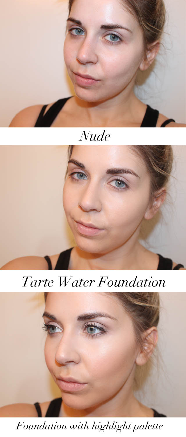 Swatches of foundation