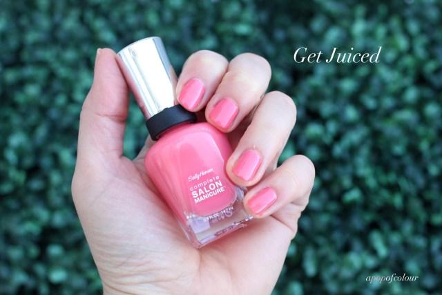 Sally Hansen Complete Salon Manicure in Get Juiced