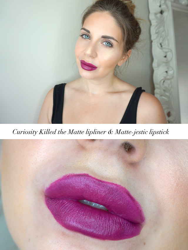 L'Oreal Paris Colour Riche Matte Curiosity Killed the Matte lipliner & Matte-jestic lipstick