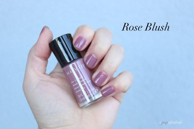 Mary Kay nail polish in Rose Blush