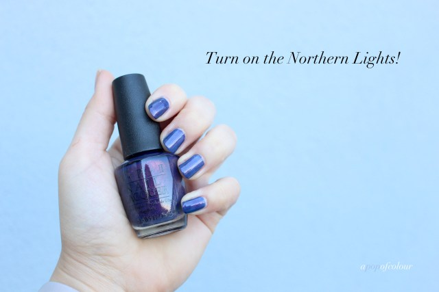 OPI Turn on the Northern Lights swatch