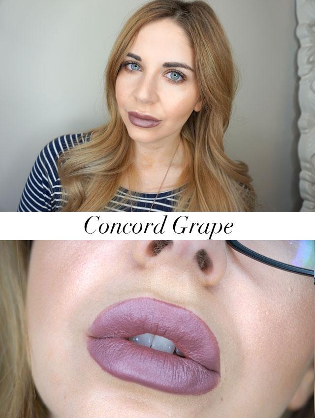 MAC Cosmetics x Robert Lee Morris Mattene lipstick in Concord Grape