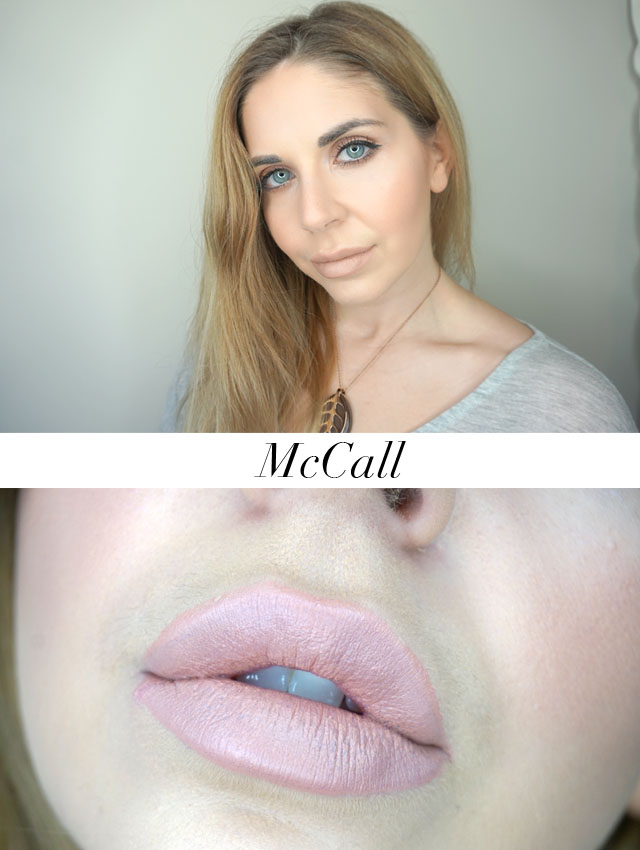 Maybelline x Gigi Hadid matte lipstick in McCall