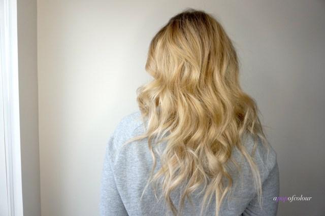 Blonde hair using Schwarzkopf Professional BLONDME haircare