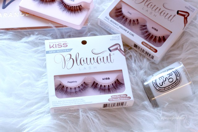 Kiss Blowout lashes in Pageboy