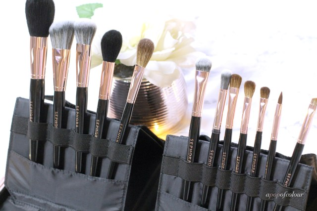 Sephora Collection PRO Essentials brushes Rose Gold edition