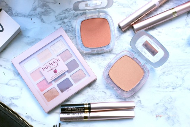 L'Oreal Paris Paradise Enchanted collection blushes, eyeliners, and eyeshadow palettes