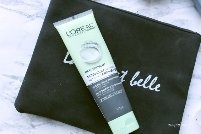 L'Oreal Paris Pure Clay Cleanser for Energizing & Brightening