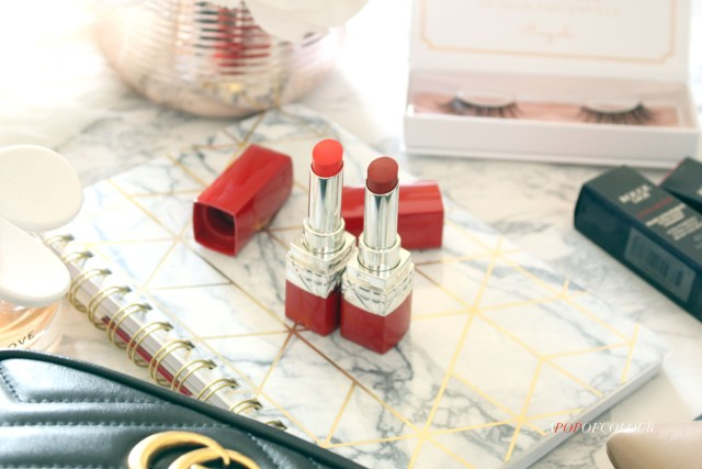 Dior Ultra Rouge lipsticks