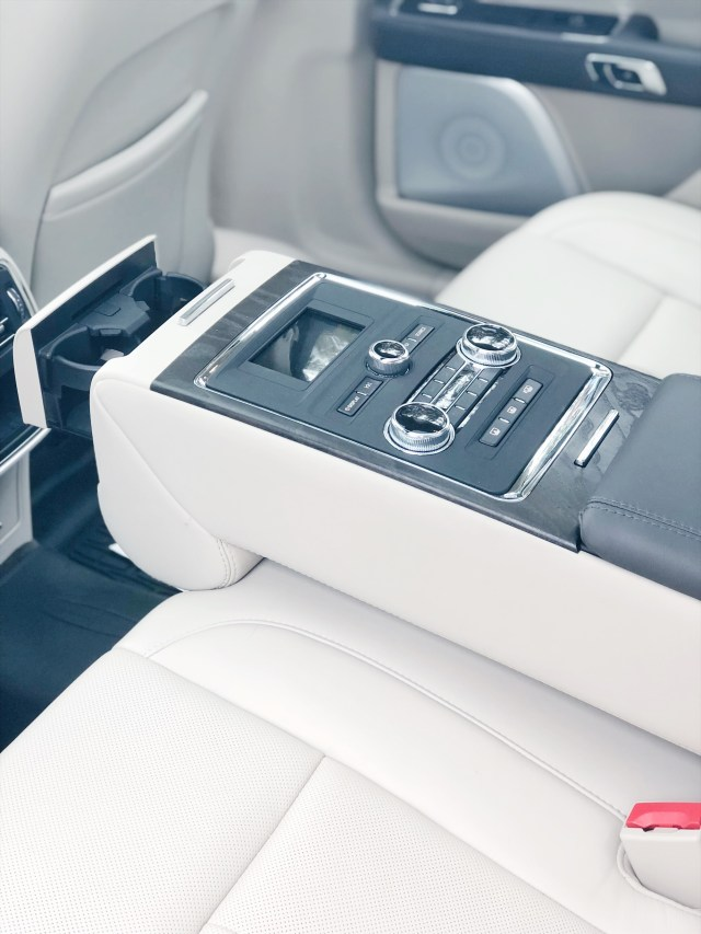 Back seat of the 2018 Lincoln Continental
