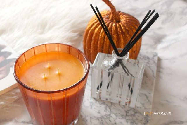 Nest Pumpkin Chai candle and diffuser
