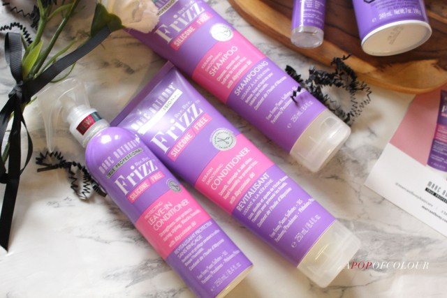 Marc Anthony Haircare Bye Bye Frizz Shampoo and Conditioner