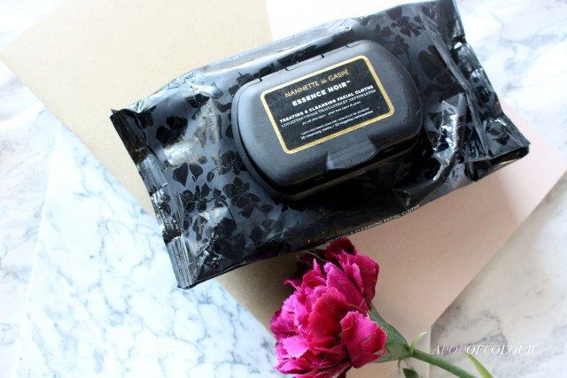 Naneette de Gaspe Essence Noir Treating & Cleansing Facial Cloths