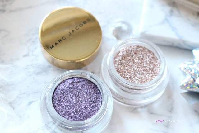 See-Quins Glam Glitter Eyeshadow in Glamethyst and Gleam Girl