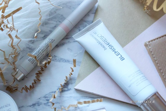 Bare Minerals Blemish Rescue Primer and concealer