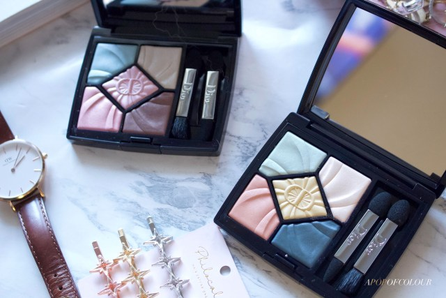 Dior 5 Couleurs Lolli' Glow Limited Edition eyeshadow palettes