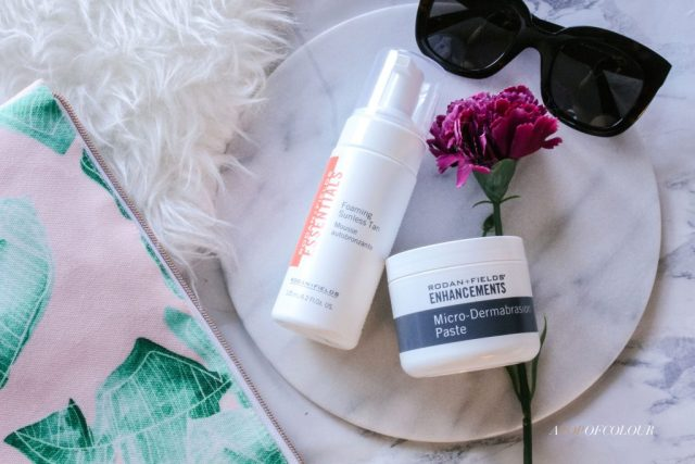 Rodan + Fields Micro-Dermabrasion Paste and Foaming Sunless Tan