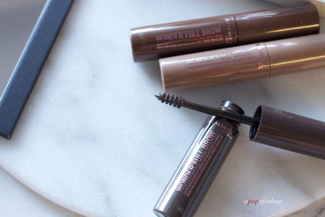 Rimmel London Wonder'Full Brow 24HR Waterproof Brow Mascara spoolie